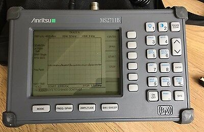 ANRITSU Portable Spectrum Analyser MS2711B Hand Held Used Excellent Condition