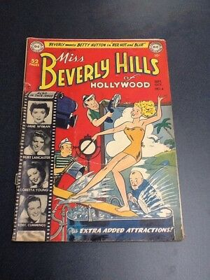 Miss Beverly Hills Of Hollywood Comic Sept.-Oct. No. 4 1949 Fine/Fine+