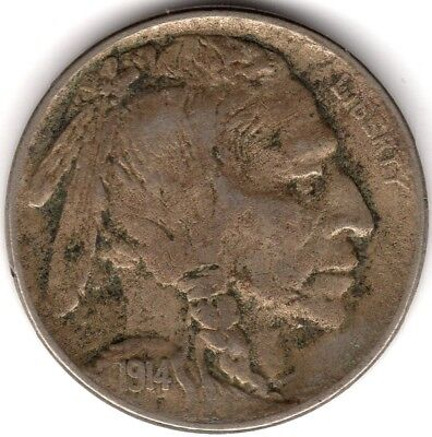 1914 U.S.A.Buffalo Nickel***Collectors***