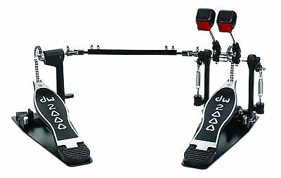 New! DW 2002 Double Bass Pedal - Drum Workshop Chain Driven 2000 Series