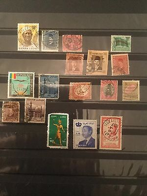 Mixed African Stamp Collection 2 Images