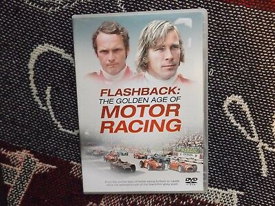 Flashback; The Golden Age Of Motor Racing - Region 2 Dvd - F1