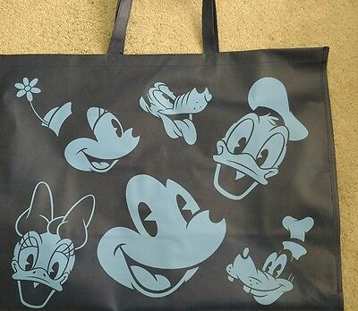 Disney Canvas Reusable Tote Bag JUMBO sized New