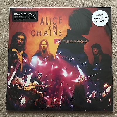 ALICE IN CHAINS – Unplugged – AUDIOPHILE RED 2LP VINYL (LTD 500) – NEW & SEALED