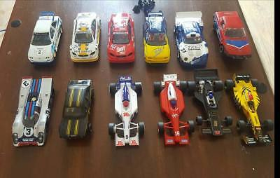 Scalextric Cars Job Lot of 12 Ninco Hornby Fly etc ...part tested