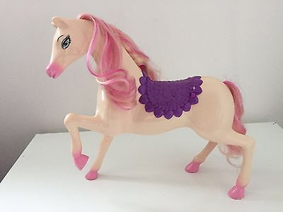 Barbie Horse White / Pink