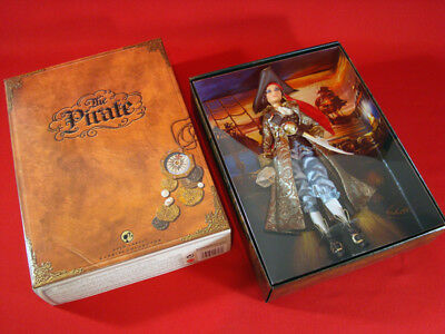 NEW 2007 The Pirate Gold Label Barbie NRFB Mattel with Shipper #K7972