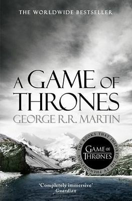 A Game of Thrones (A Song of Ice and Fire, Book 1) George R.R. Martin Paperback,