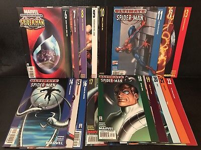 Ultimate Spider-Man Lot ~Complete Run Of Issues 6 - 32 High Grade