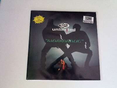 "2 Unlimited ""workaholic"" Maxi 12"" Spanish Vinyl Vg/vg Mbe/mbe"