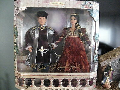 NRFB  Romeo and Juliet  Barbie   LIMITED  EDITION  Set  (1997)