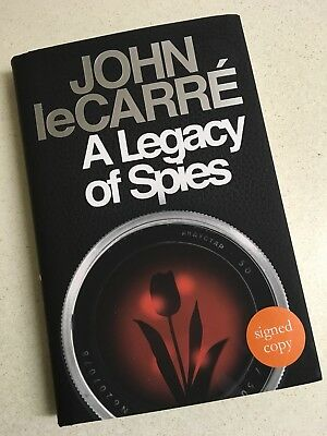 SIGNED 1st edition - John Le Carre ~ A Legacy Of Spies