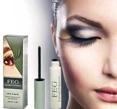 FEG Eyelash Enhancer Eye Lash Rapid Growth Serum Liquid New 3ml