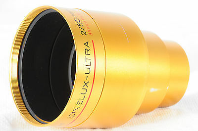 Schneider Cinelux Ultra Projection lens 85mm f/2 for 35mm film READ     054