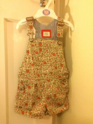 Boden 3-4 Floral Dungarees Gorgeous!!!