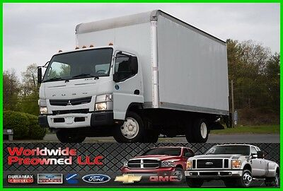 2013 Mitsubishi Fuso Fe160 Tilt Cab Over 16ft Box Truck 3.0L Diesel Automatic