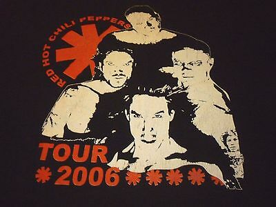 Red Hot Chili Peppers Tour Shirt ( Used Size XL ) Good Condition!!!