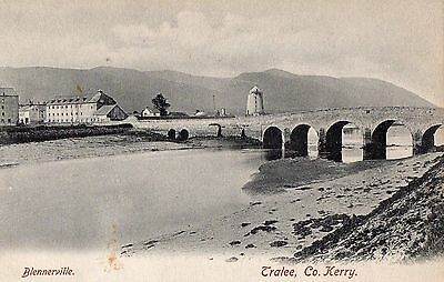 BLENNEVILLE TRALEE CO. KERRY IRELAND VINTAGE IRISH POSTCARD by LAWRENCE