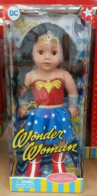 "NEW Madame Alexander Superhero Girls 18"" Doll Collection - WONDER WOMAN"