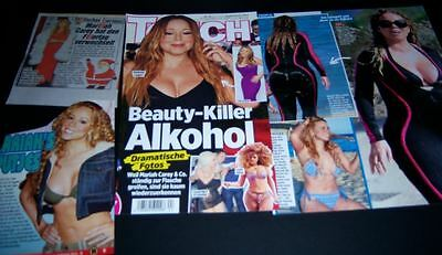 Mariah Carey 38 pc German Clippings Cover Full Pages RARE