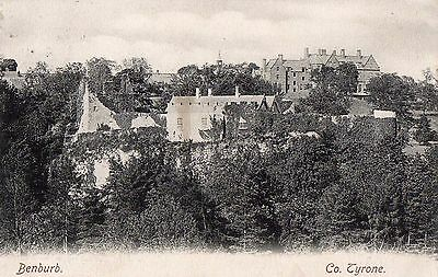 Benburb Co. Tyrone Ireland Lawrence Postcard Posted 1904