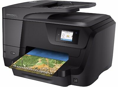 HP OfficeJet Pro 8710 A4 Colour Wireless All-in-One Printer - Brand New