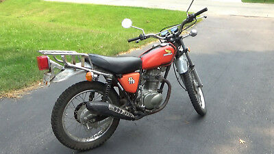 1975 Honda Other  1975 Honda XL 175 dual-sport motorcycle