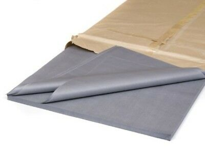 """50 Luxury Sheets Acid Free Grey / Silver Tissue Paper 18"""" x 28"""""""