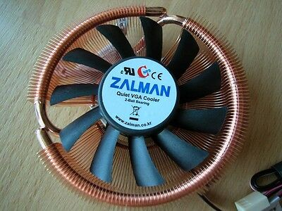 Zalman VF900-Cu dual heatpipe with Fan Mate 2