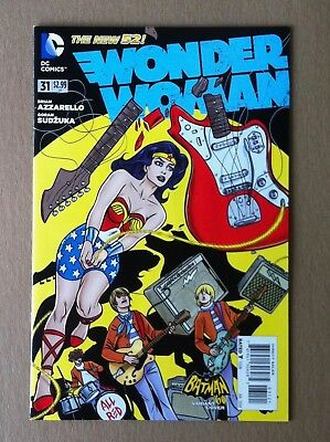 Wonder Woman (2011) #31 Mike Allred Batman '66 1:25 Variant Cover 1St Printing