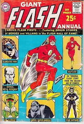 The Flash Giant Annual No. 1 (1963, DC)