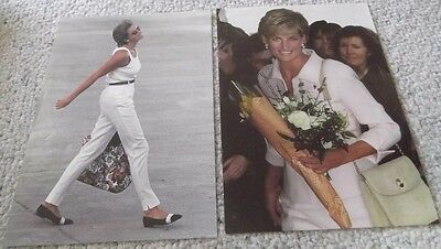 2 Princess Diana Posters, Daily Telegraph Australian, Aug 1996 & March 1997, A4