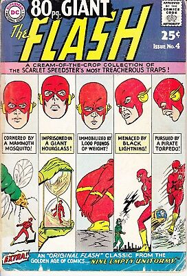 The Flash Giant Annual No. 4 (Oct 1964, DC)