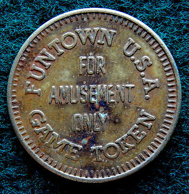 Funtown USA Game Token Coin SB3474