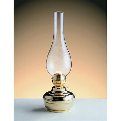 New Brass Table Kerosene oil lamp Lighting ,Study, Home Deco  - Made In Italy