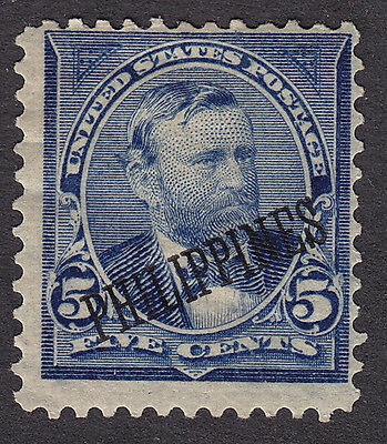 Philippines - USA administration MINT 1899 5¢ PHILIPPINES overprint