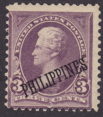 Philippines - USA administration MINT 1899 3¢ PHILIPPINES overprint