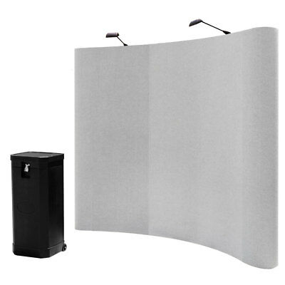 7.5ft Portable Trade Show Pop up display Booth Kit-Spring Connection