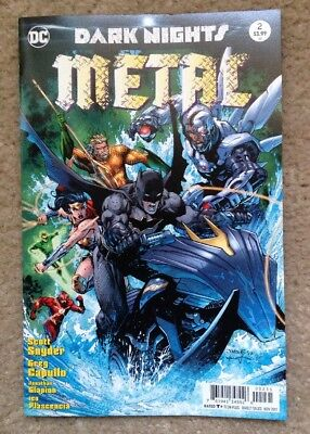Dark Knights: Metal #2 Jim Lee Variant Cover near mint- (NM-) condition