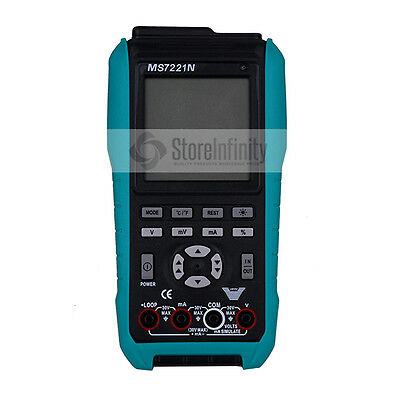 MS7221N VOLT/mA Digital USB Process generator Calibrator Multimeter  4-20mA