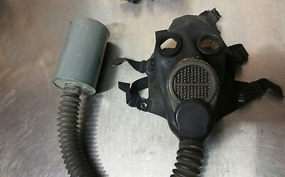Vintage US Army Military gas mask sniper