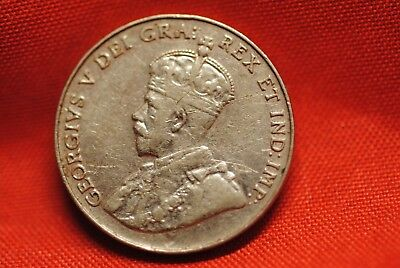 Canada 1934 5 Cents in extremely fine/very fine