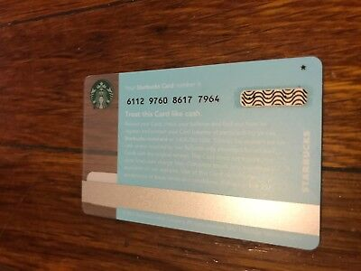 """RARE Starbucks  2015 GIFT CARDLimited Edition ' Coffee Press ' WITH """"STAR"""" MARK"""