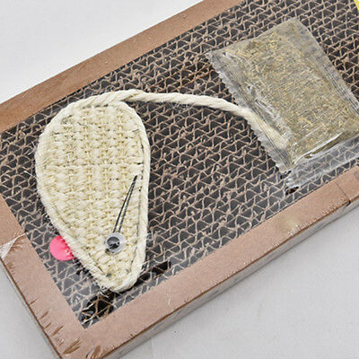 Pet Cat Scratcher Board Scratching Mat Post Pole Bed Pad With Catnip Toys Newest