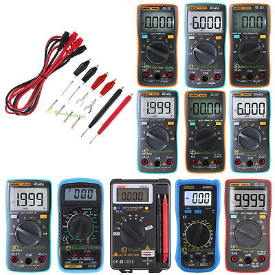 ANENG True-RMS Digital Multimeter 9999 Counts Square Wave Voltage Ammeter Lots