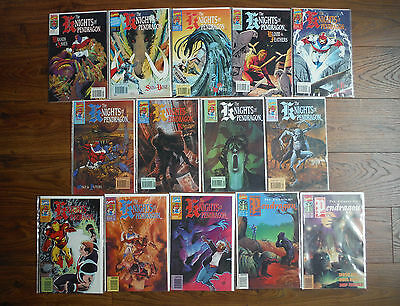 THE KNIGHTS OF PENDRAGON #1 2 3 4 5 6 7 9 10 11 12 13 14 15 Lot NM Marvel Comics