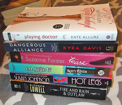 Lot Of 6  Erotic Romance Books Trade Size New Spice / Berkley / Gallery  #5