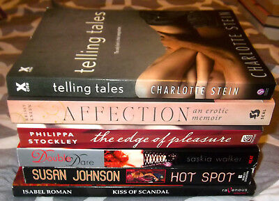Lot Of 6  Erotic Romance Books Trade Size New Heat / Berkley / Xcite  #4
