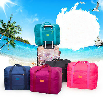 Foldable Travel Storage Luggage Carry-on Organizer Hand Shoulder Duffle Big Bags