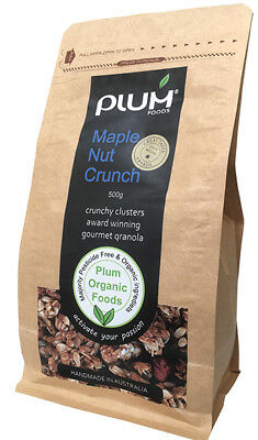 Maple Nut Crunch Organic Granola 1kg - Plum Organic Foods